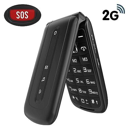 Amazon.com: Teléfono desbloqueado 32 GB ROM + botón SOS Dual ...