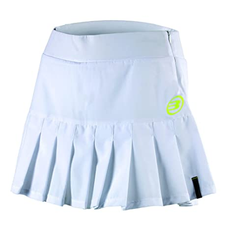 Bull padel Bonella - Falda para Mujer, Color Blanco, Talla XL
