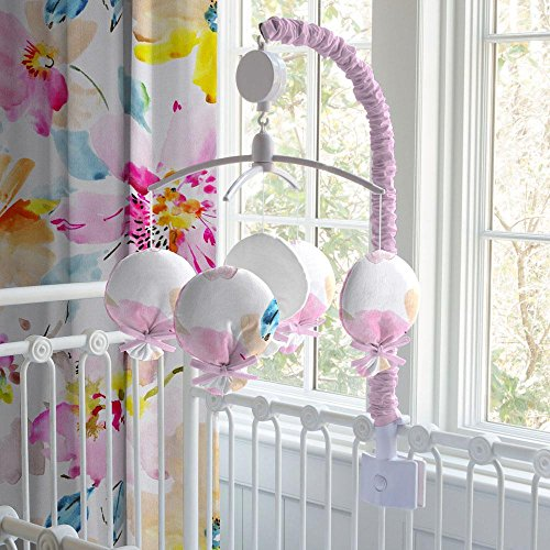 Carousel Designs Watercolor Floral Mobile by Carousel Designs