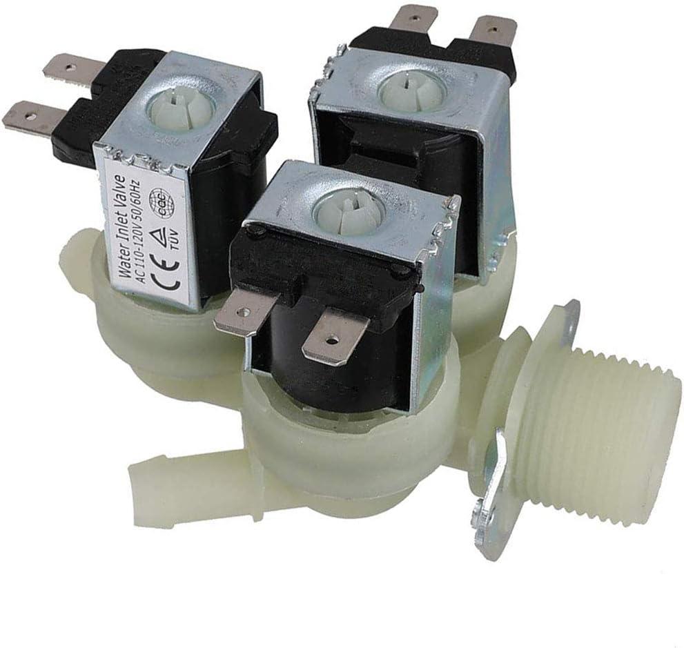 5220FR2075L Cold Water Inlet Valve for LG Kenmore Replaces 5221ER1003A AP5986564 5221ER1003C 5221ER1003D PS11728995