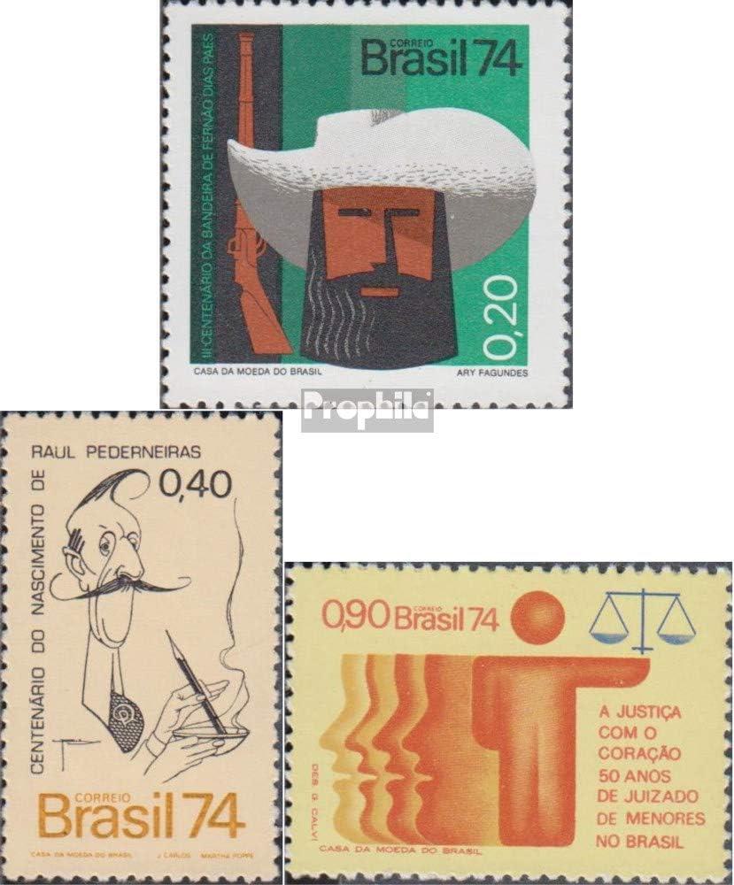 Prophila Collection Brasil Michel.-No..: 1443,1447,1465 (Completa.edición.) 1974 Fernao, Pederneiras, Jugendgericht (Sellos para los coleccionistas): Amazon.es: Juguetes y juegos