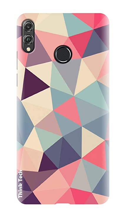 online retailer 101af d03bb Think Tech Huawei Honor Play Printed Hard Back case Cover I Honor Play  Designer Stylish Case - Orange Yellow Pink Design Woman Girl