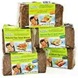 Mestemacher Bread Natural Rye And Spelt Bread Whole Grain Bread With Unripe Spelt Grains 17.6 Ounce, Pack of 12, 17.6 Ounce