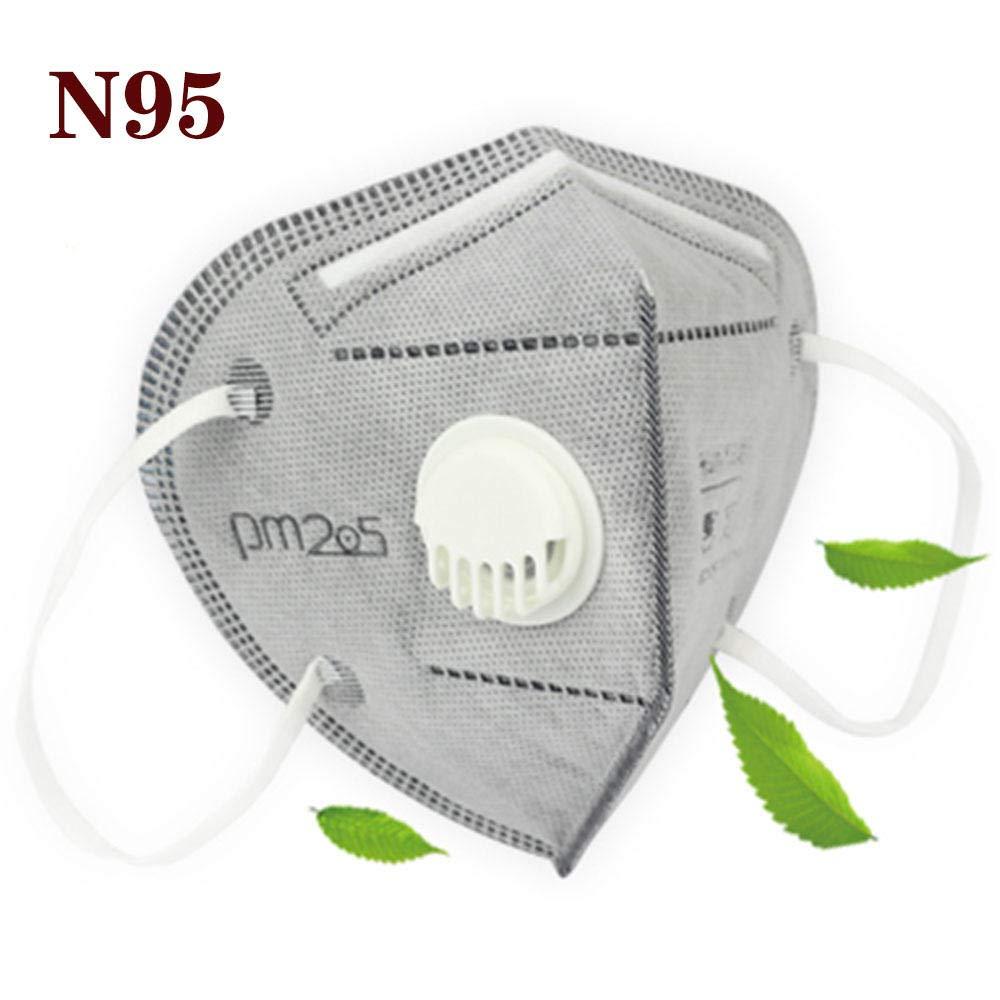 Máscara N95 de 3M, Máscara protectora KN95, Máscara de gas con válvula, Filtrado de virus bacteriano al 95%, Neumonía PM2.5, Neumonía, Máscara respirat