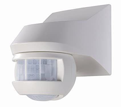 Theben 1010961 Luxa 101-180 - Detector de movimiento, color blanco