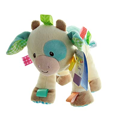 Mary Meyer Taggies Casey Plush Toy, Cow: Baby