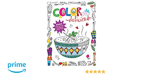Counting Number worksheets math addition coloring worksheets : Amazon.com: Color Me Delicious Adult Coloring Book (9781617655968 ...