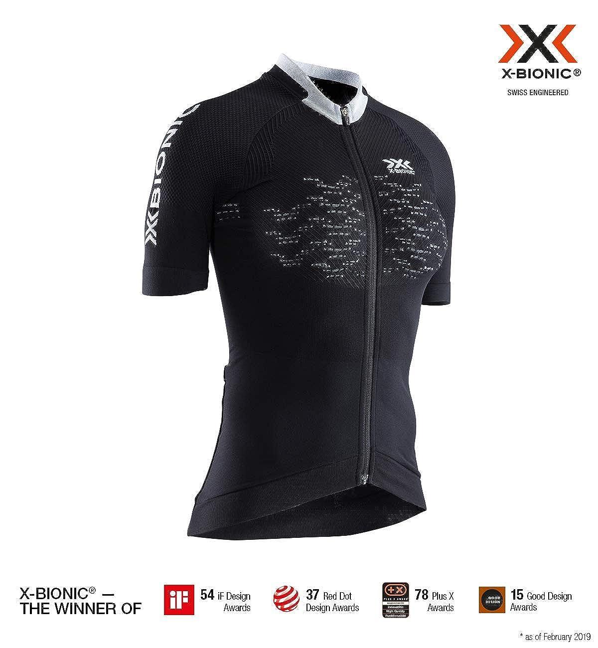X-Bionic The Trick 4.0 Bike Zip Shirt Short Sleeve Women