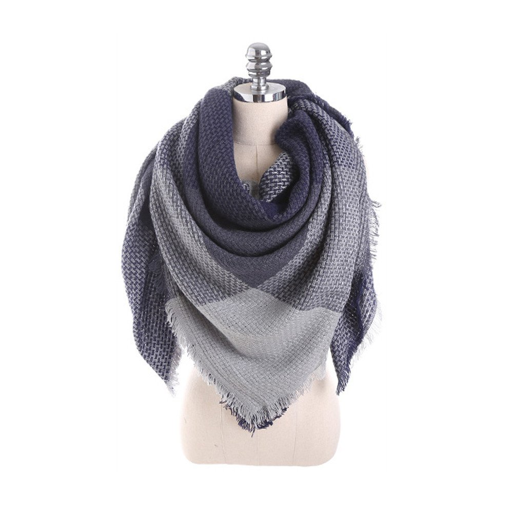 G❤ Dreiecksschal Winterschal Schal für Damen in Braun   Neu ❤