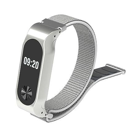 Correa de Nylon Reloj de Ligera del Deporte reemplazo para XiaoMI MI Band 2 Correa Reloj