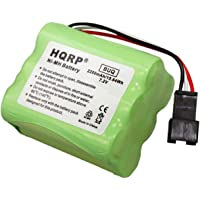 HQRP Batería 2200mAh Compatible con Teac R-1 R-2 R-5 R-12 Radio Am/FM portátil BP-R1 BP-R2 BP-R5 BP-R12EU Reemplazo