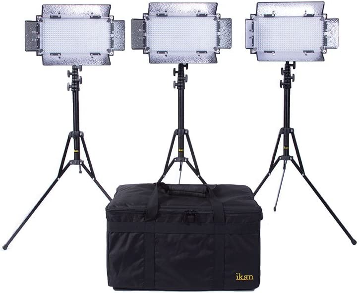 Black Ikan IB508-v2-KIT Bi-Color LED Studio Light