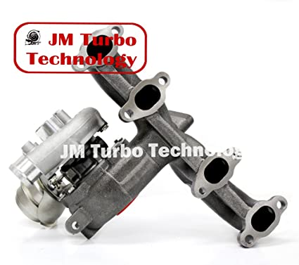 amazon com: turbocharger for volkswagen beetle golf jetta tdi 1 9l diesel  turbocharger with exhaust manifold: automotive
