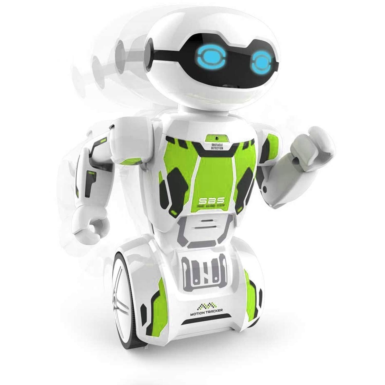 Dumel Silverlit Macrobot Interactive Robot Spielzeugroboter mit Fernbedienung (Grü n)