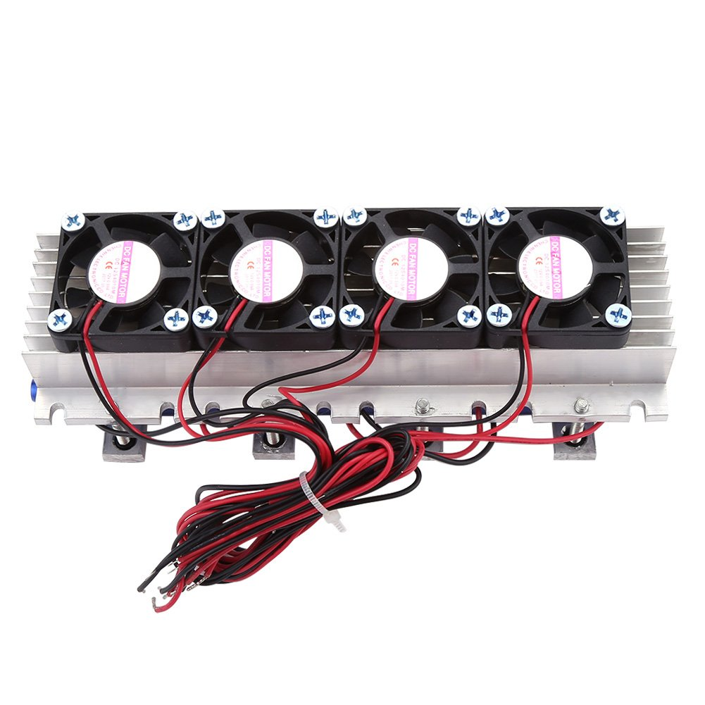 DIY Thermoelectric Cooler Refrigeration Air Cooling Device 4-Chip TEC1-12706 12V 288W by Walfront (Image #3)