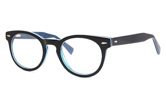 3c76c7197b3f SmartBuy Collection Poppy Unisex Prescription Eyeglass Frames - Full Rim  Round Designer Glasses Frame - Poppy