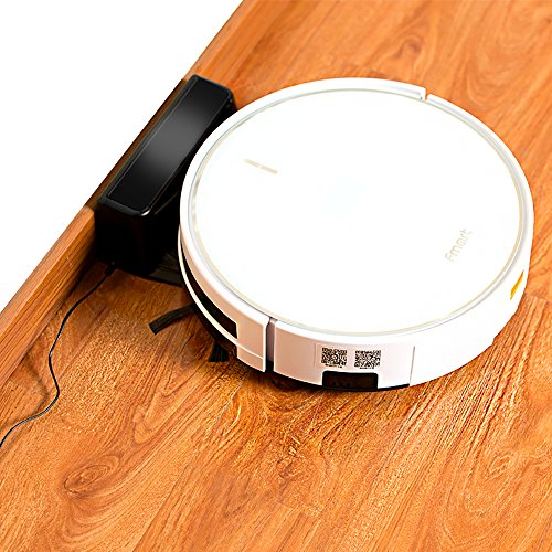 Fmart Pro Robotic Vacuum Cleaner with Self-Charging, Mop and Water Tank, Robot Vacuum Cleaner for Hard Floor, Low-pile Carpet, APP Control, Wi-Fi Connected - Cleaning Robot FM-R570 by Fmart (Image #4)