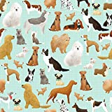 Best in The Show Dog Gift Wrap Roll - 24'' x 15'