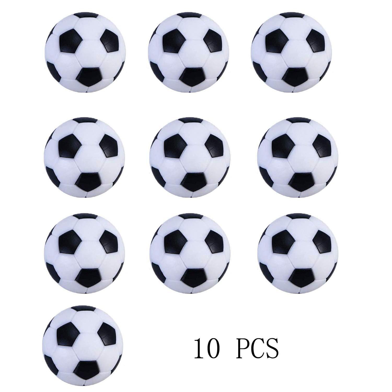 Istloho 10 Piezas plástico Mesa futbolín balones fútbol Balones de ...