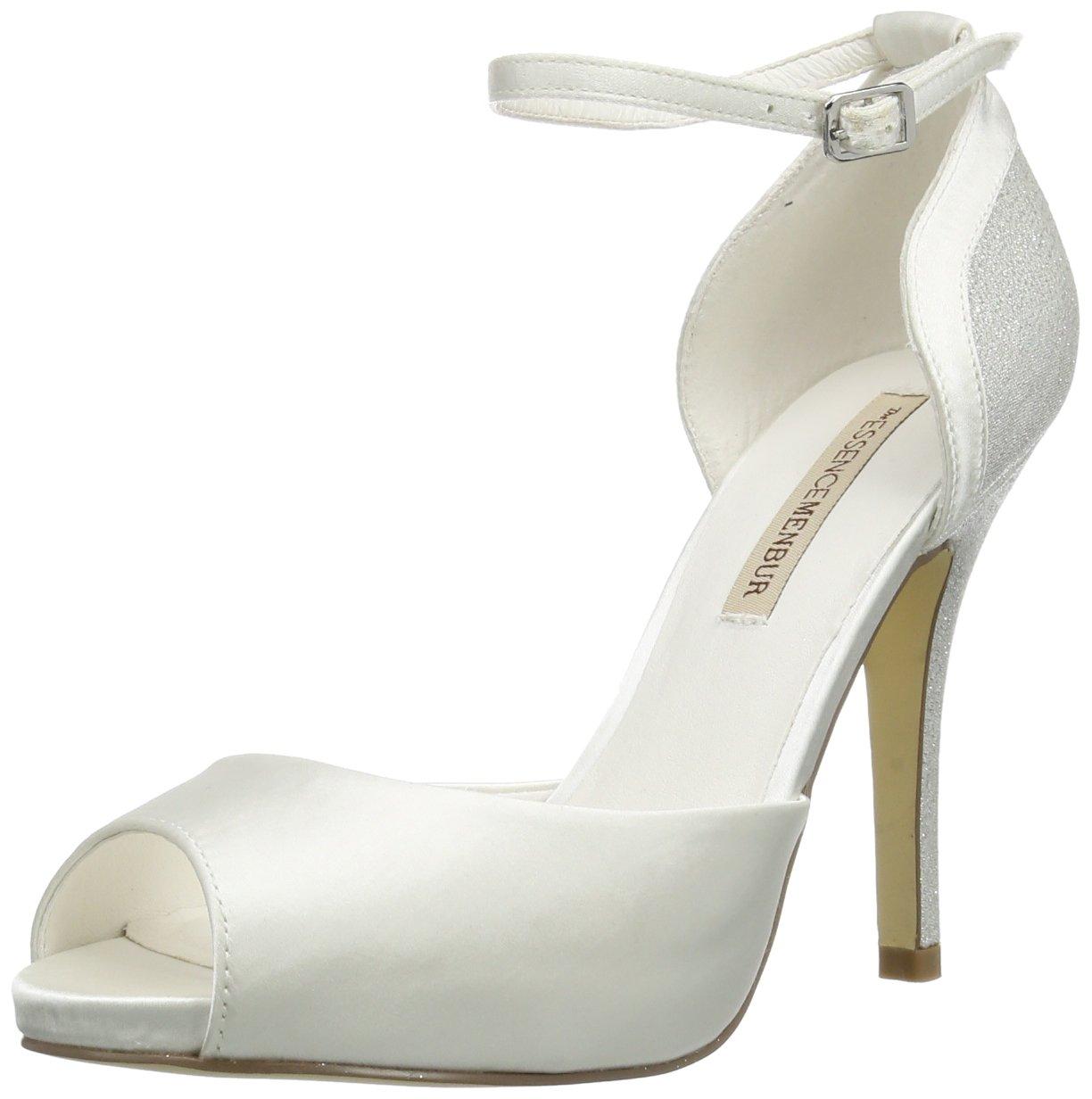 Menbur Wedding Gisela, Bride cheville 10248 (Ivory femme Blanc femme - Elfenbein (Ivory 04) 855179d - automaticcouplings.space