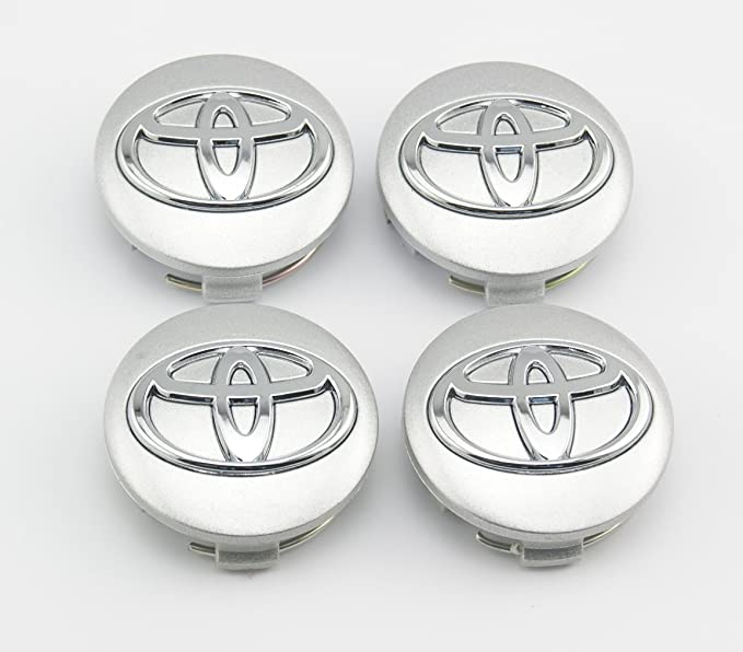 amazon angel mall toyota 57mm outer diameter silver wheel Ducati Tundra angel mall toyota 57mm outer diameter silver wheel center hub caps cover 4 pc set