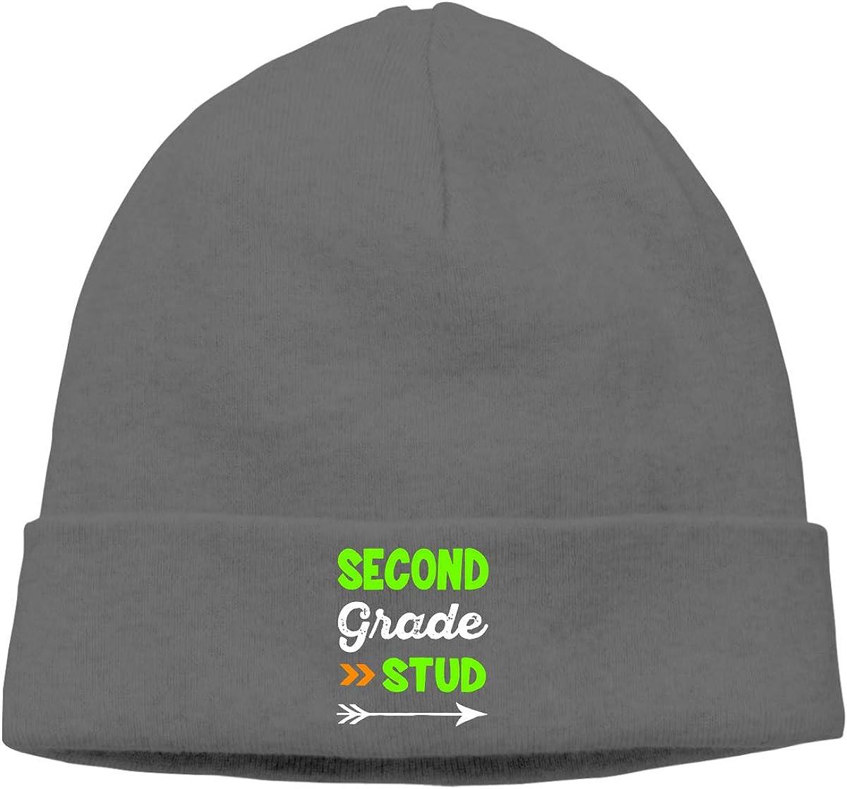 09/&JGJG Team 2nd Second Grade Men and Women Beanie Winter Warm Knit Beanie Cap