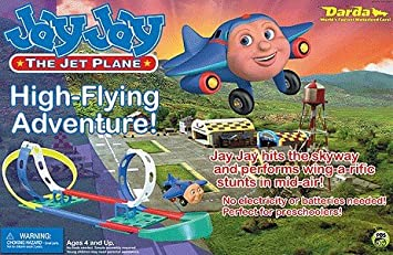Jay Jay The Jet Plane High Flying Adventure Playset Amazon Co Uk