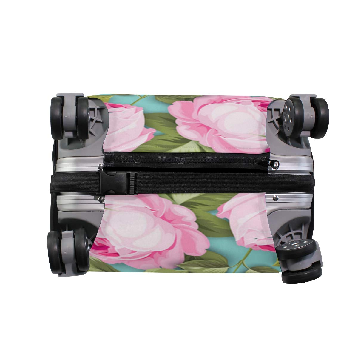 A Bunch Of Flowers Traveler Lightweight Rotating Luggage Protector Case Can Carry With You Can Expand Travel Bag Trolley Rolling Luggage Protector Case