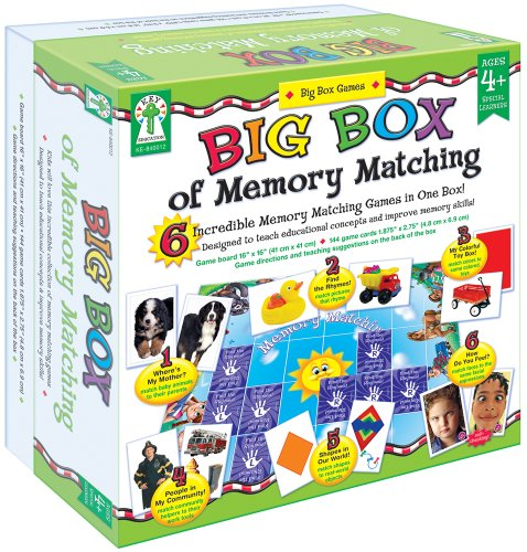 Learning Memory Box (Key Education Publishing Big Box of Memory Matching)