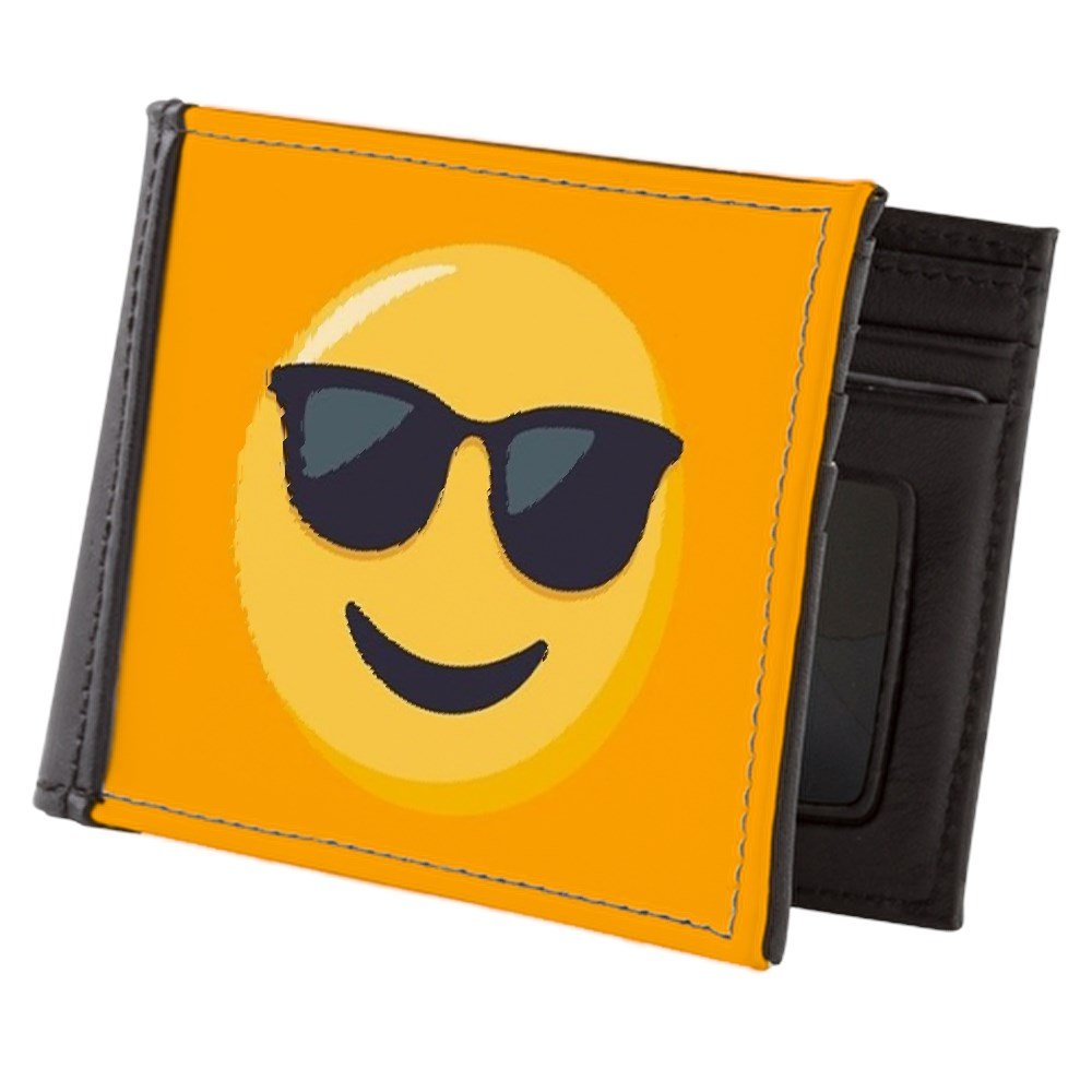 Amazon.com: CafePress – Gafas de sol Emoji – Mens wallet ...