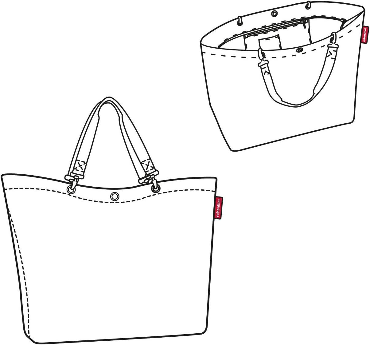 Volumen reisenthel shopper XL mixed dots Ma/ße 35 l 68 x 45,5 x 20 cm