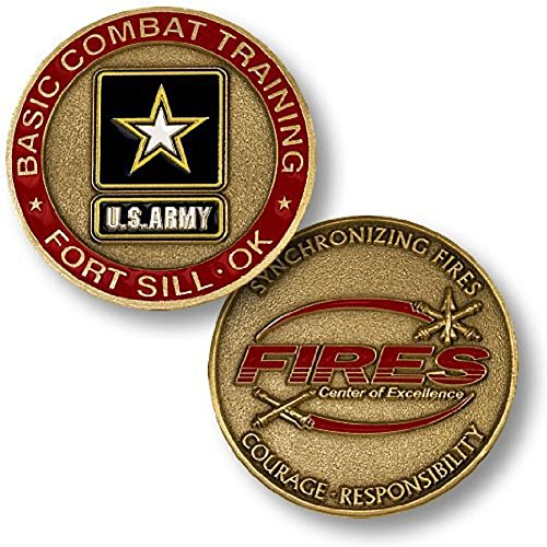 U.S. Army Basic Combat Training Fort Sill, OK Challenge Coin