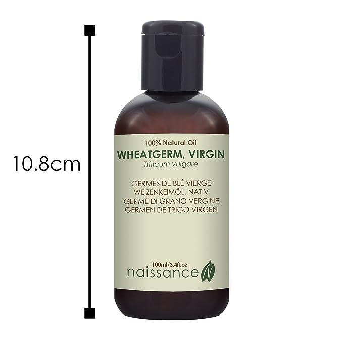 Naissance Germen de Trigo Virgen - Aceite Vegetal Prensado en Frío 100% Puro - 100ml: Amazon.es: Belleza