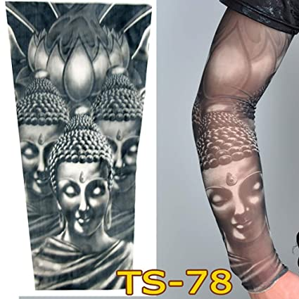 Manga de Tatuajes Patrón de fantasia flores Yesmile ❤ Hot Juego Mangas de tatuajes temporales