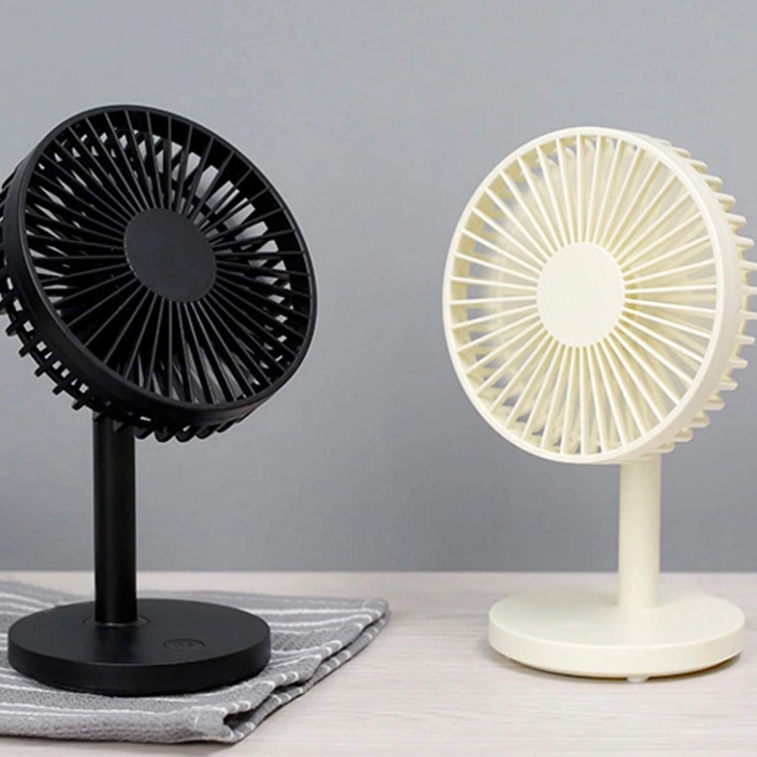 Air Cooler Desktop Mini USB Fan USB Air Cooling Fan for Home//Office Student Dormitory Gadget Color : White