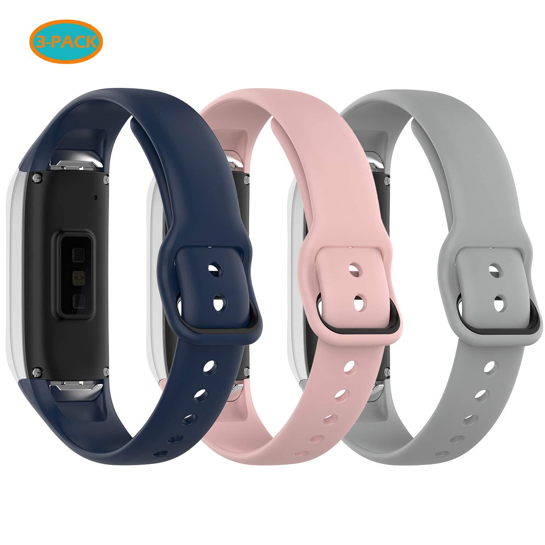 Malla Para Reloj Samsung Galaxy Fit Sm-r370 (azul Rosa Gris)