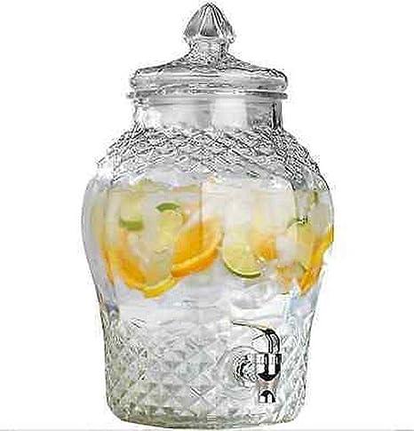 Cristal dispensador De Bebidas tarro 6L cóctel de bebidas agua zumo Punch parte bebida grifo