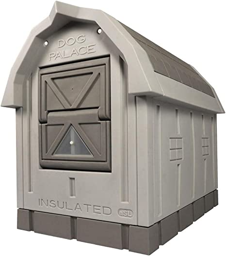 Amazon Com Asl Solutions Deluxe Insulated Dog Palace With Floor