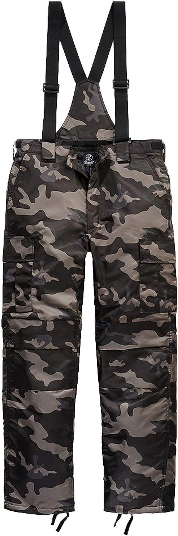Brandit Next Generation - Pantalones térmicos Forro cálido con tirantes extraíbles.