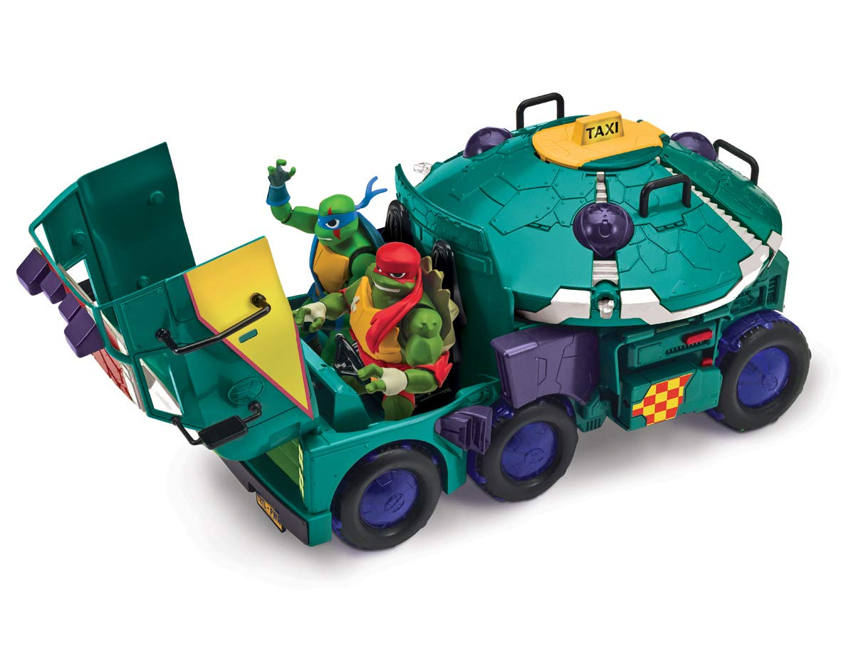 Teenage Mutant Ninja Turtles TUAB6000 - Camion Tanque de las Tortugas, Multicolor