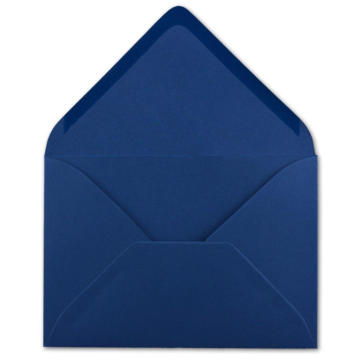 /Buste senza finestra ideale per Natale Biglietti Inviti del suo gluexx-AGENT 50/Buste DIN B6/notte blu 125/X 175/mm 80/G//M/² incollaggio Post/