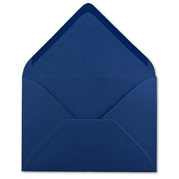 50 DIN C6 Briefumschl/äge Honiggelb 120 g//m/² Nassklebung Brief-H/üllen ohne Fenster f/ür Einladungen von Ihrem Gl/üxx-Agent 11,4 x 16,2 cm