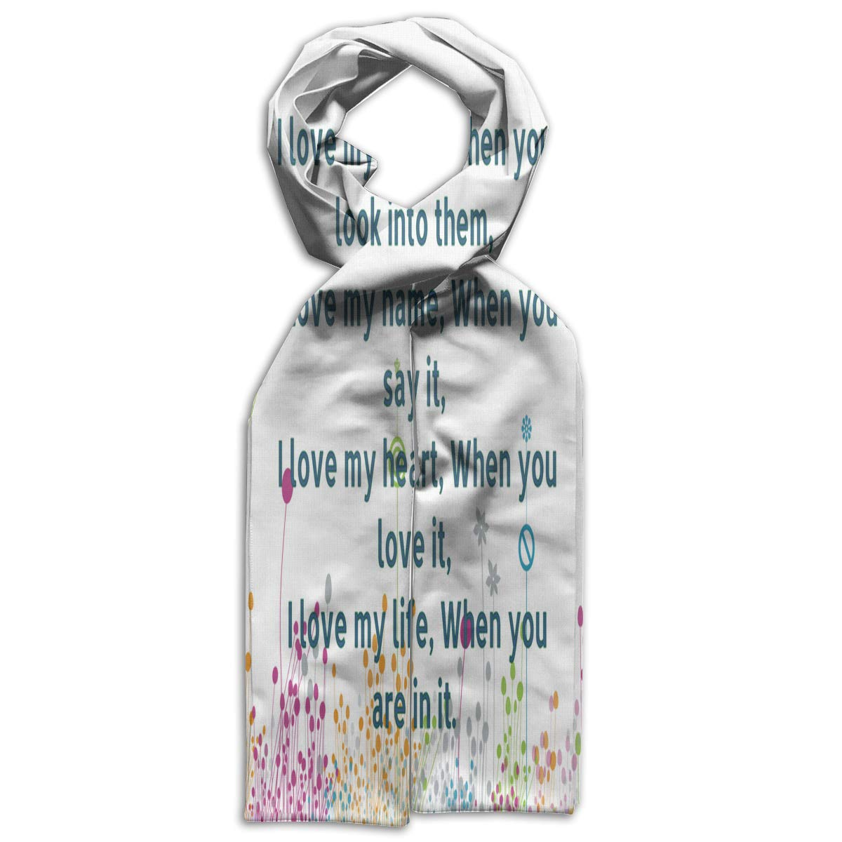 Kids Scarf You Are The Love Of My Life Scarves Winter Warm Bandelet For Young People