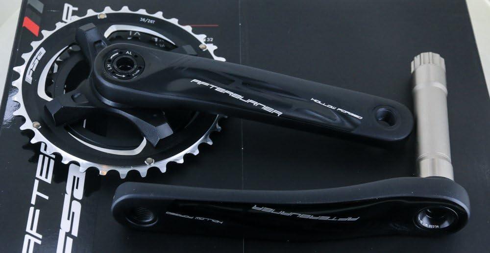 FSA Afterburner Modular MegaExo MTB Bike Crankset 175mm 30T 24mm 1 x 10//11s NEW