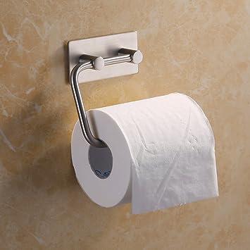 KES Self Adhesive Toilet Paper Holder Stainless Steel Tissue Paper