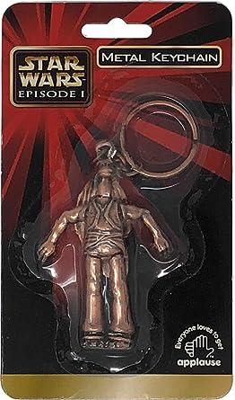 Amazon.com: Star Wars - Llavero de metal de Episode I: Clothing