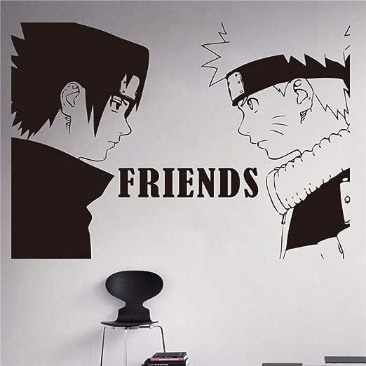 guijiumai Anime japonés y Sasuke Adhesivos de Pared Habitaciones ...