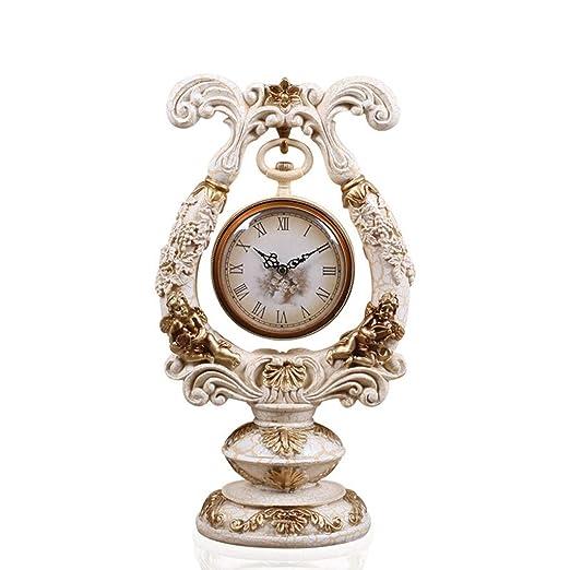 Reloj de mesa, Reloj de mesa Vintage Sala de estar Decoración ...