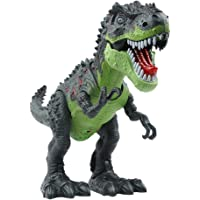 Sun Cling Electronic Toys Green Walking Tyrannosaurus Rex Dinosaur