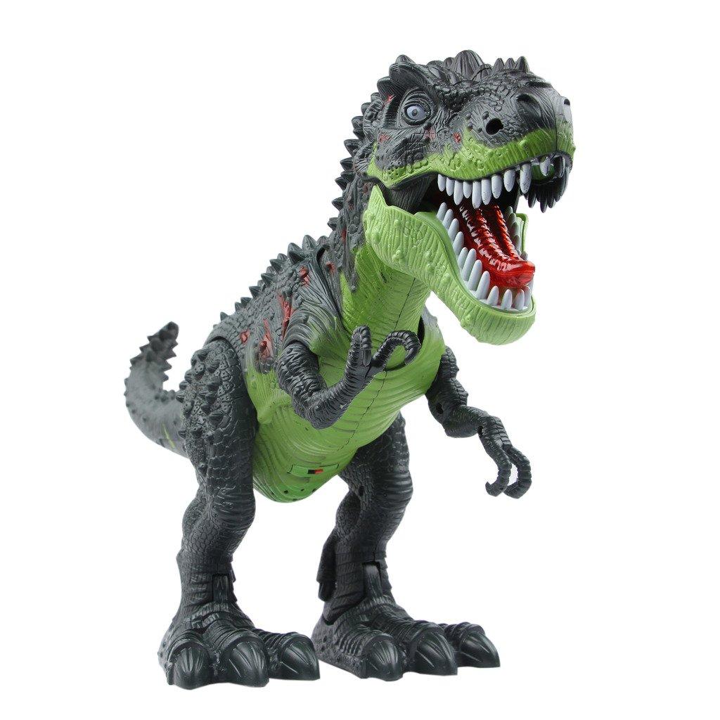 Yier® Elektronisches Spielzeug Grün Gehen Brachiosaurus Dinosaurier